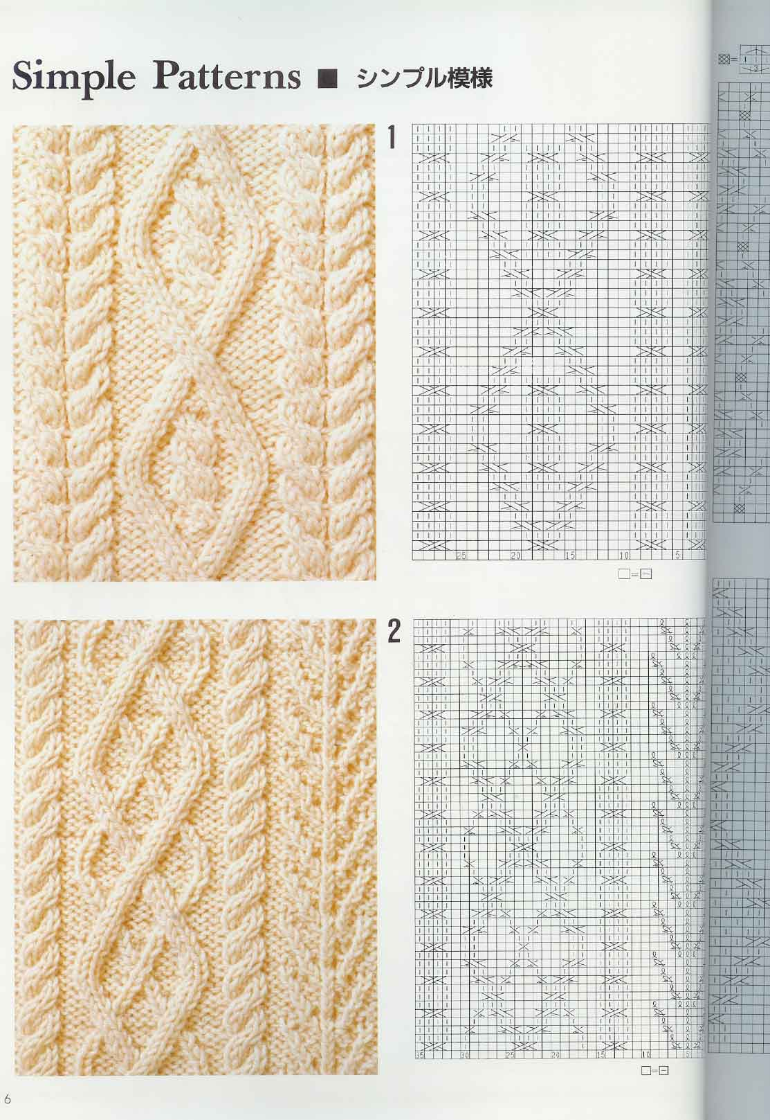 Схемы жгутов и кос вязание спицами 21 фотография