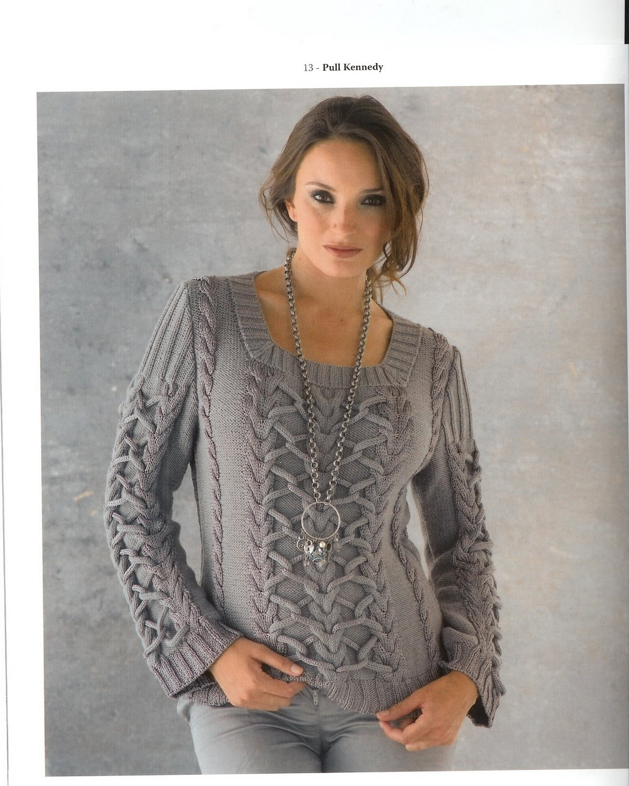 Вязание для женщин свитеров 60
